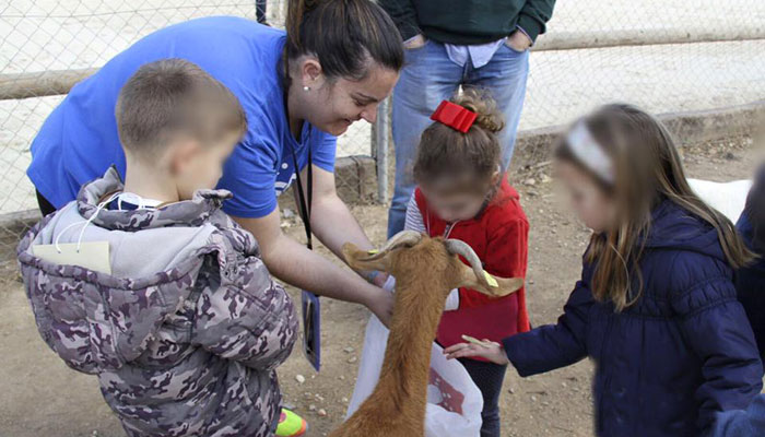 Jornadas de ocio en familia en la Granja Escuela El Pato