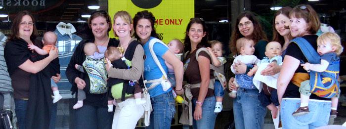 Madres porteando