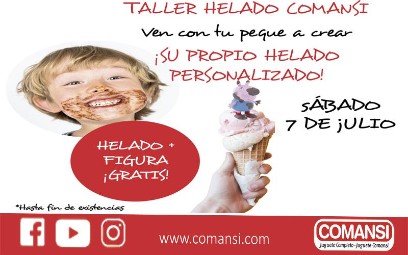 Taller Helado Comansi en Granada y Valencia