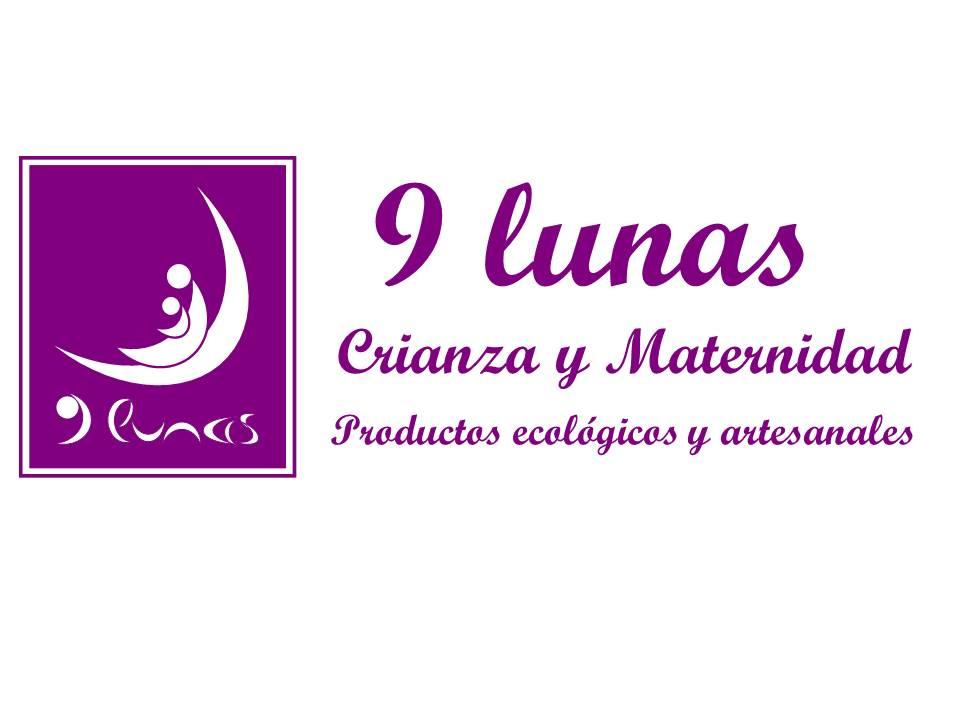 logo 9lunas crianza y maternidad