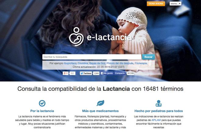 Web e-lactancia.org